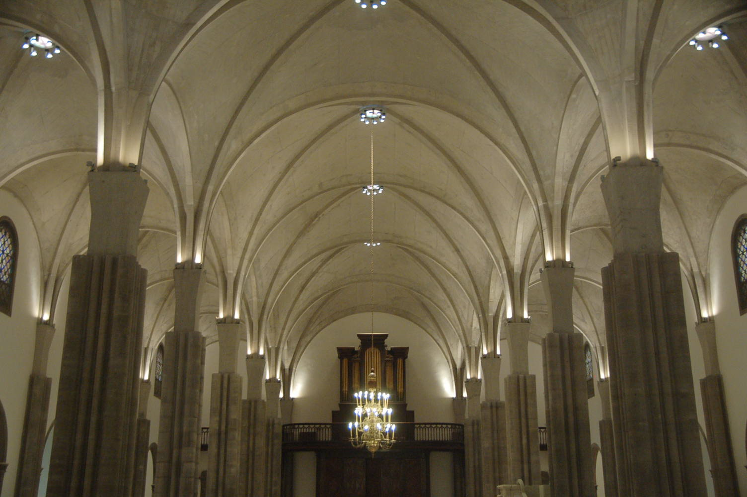 Interior of the Cathedral after project completion