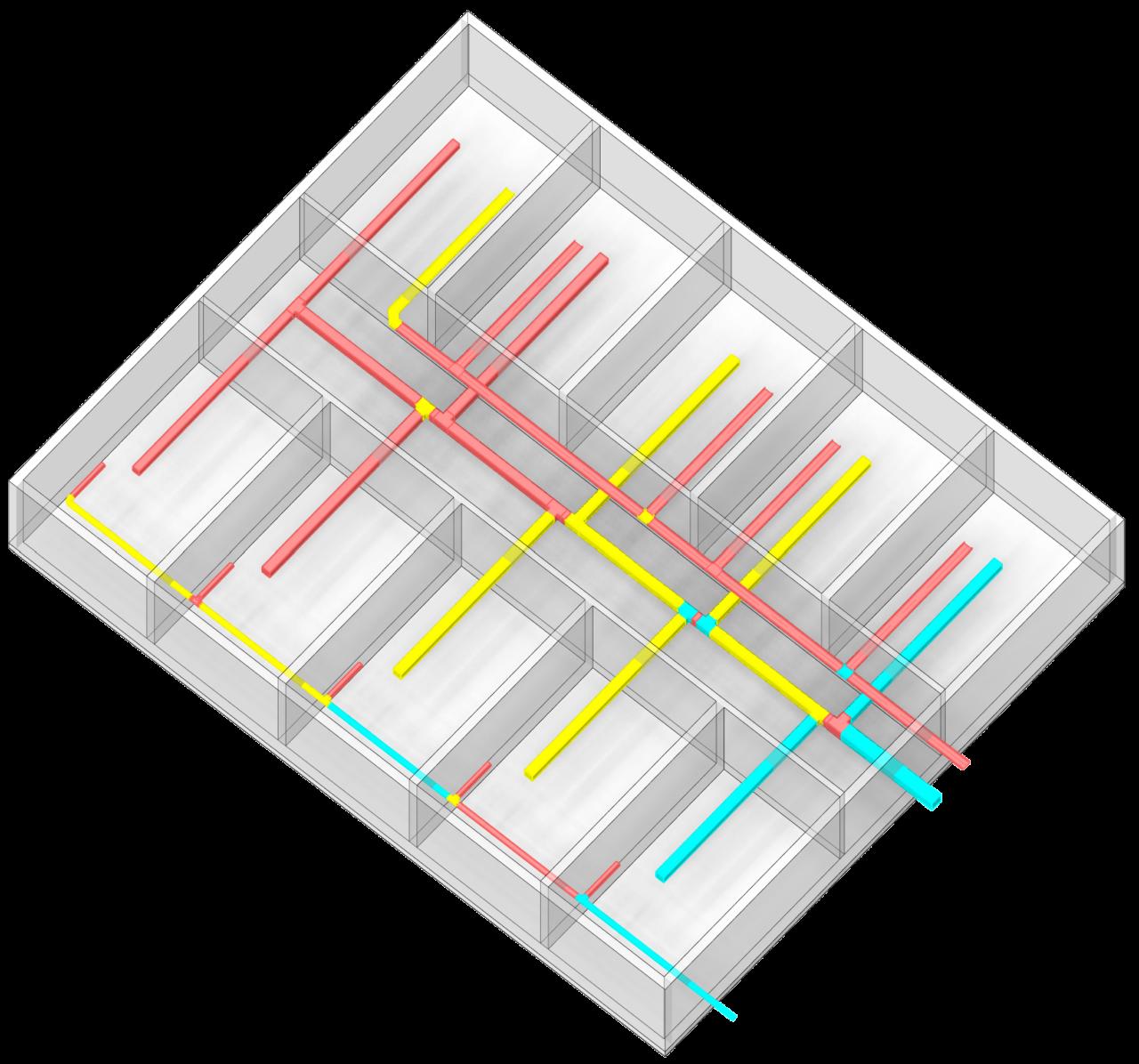 ChangeDuct_PipeFittingLevel - Modify fitting levels without