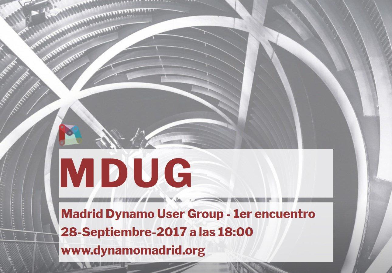MDUG MAdrid Dynamo User Group