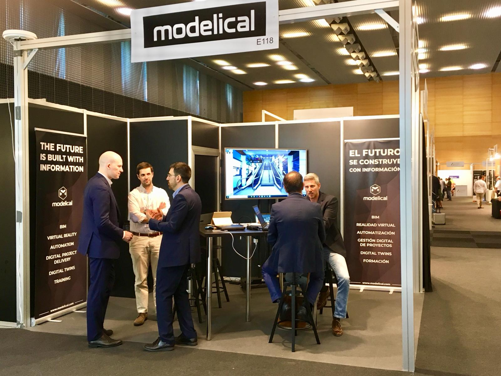Modelical at BIMEXPO 2018 - Modelical