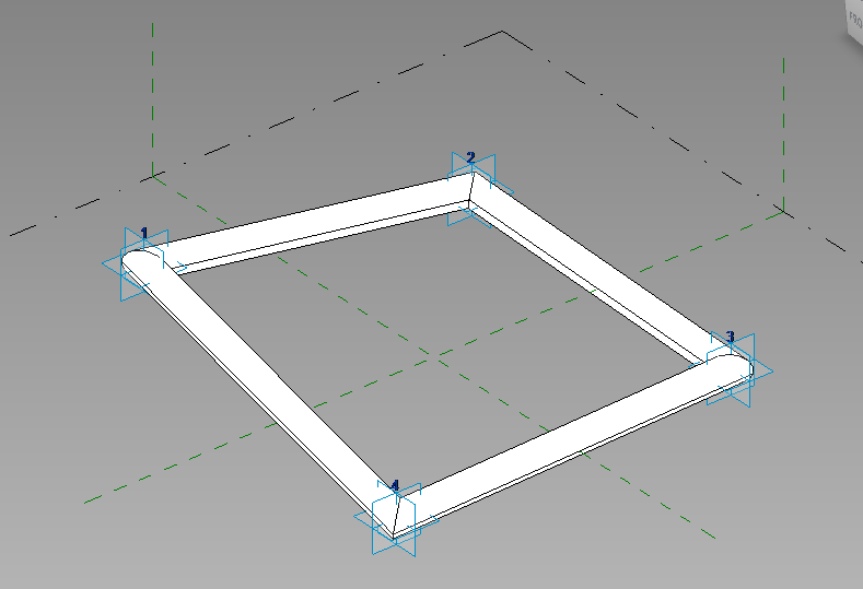 Adaptive Components - Operation in Revit - Modelical